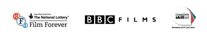 BFI, BBC Films and Creative Skillset logos