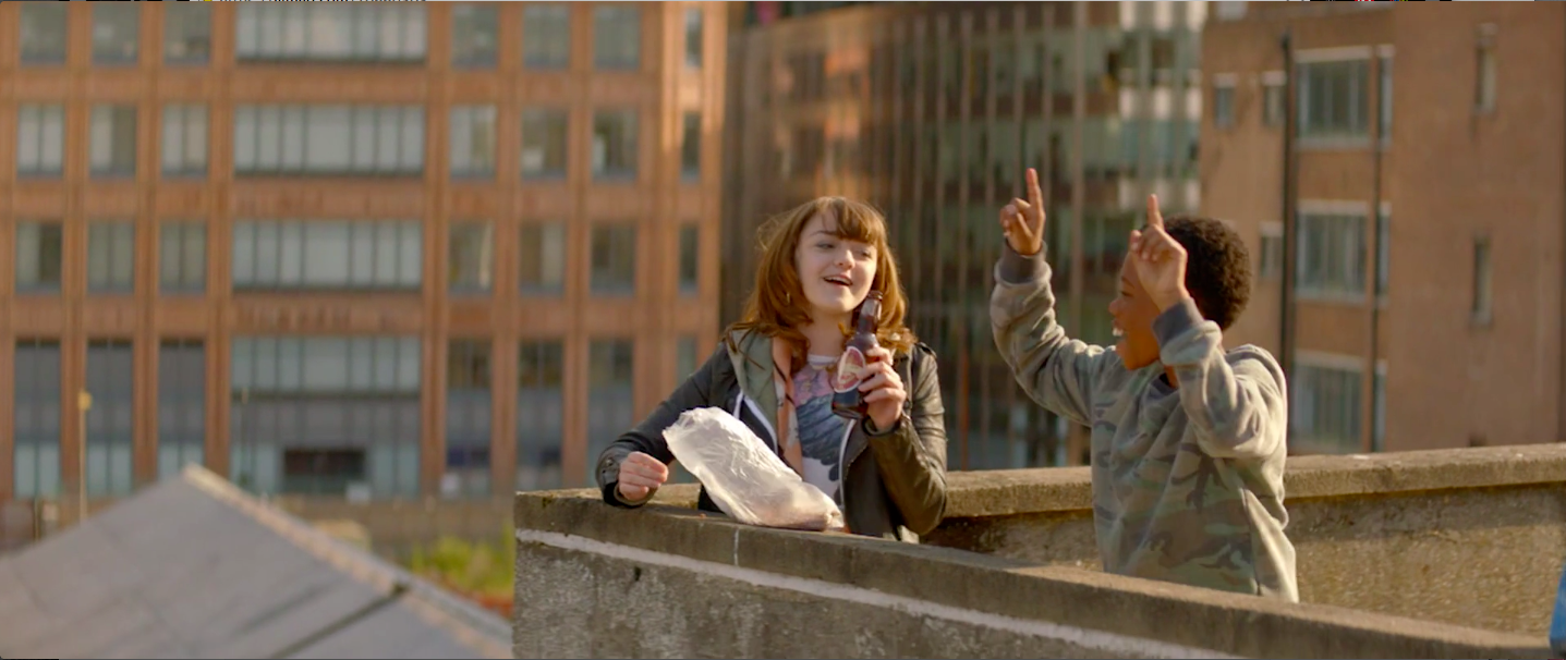 A still from Up on the Roof (2